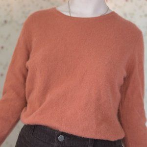 Coral Cashmere Sweater